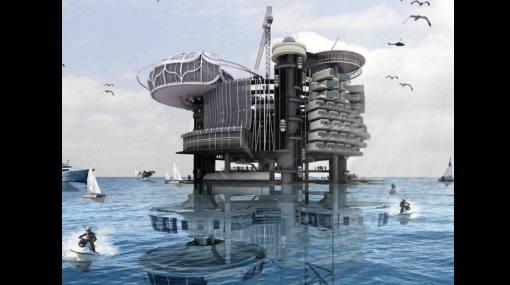 Viejas plataformas petroleras marinas podrían ser condominios sostenibles