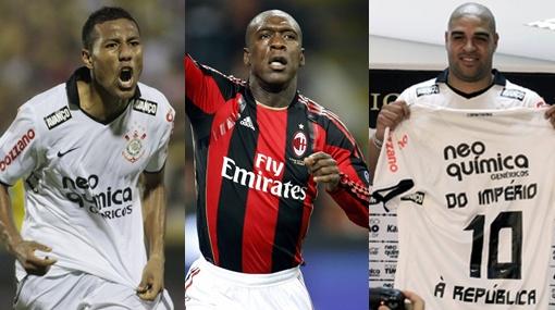 Seedorf está dispuesto a jugar con 'Cachito' y Adriano en el Corinthians