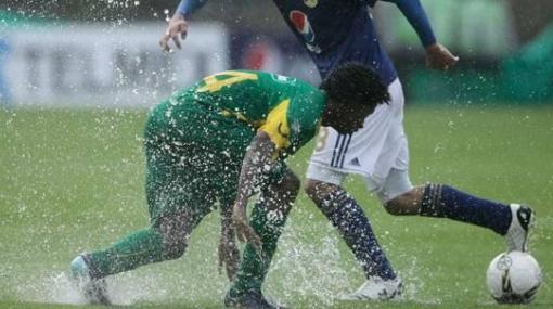 Mundial Sub 20: drenaje de nuevo estadio El Campín no funciona