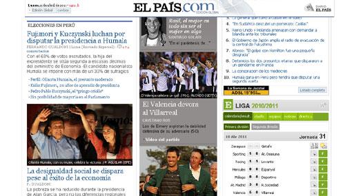 FOTOS: prensa internacional destaca lucha por el segundo lugar en elecciones peruanas