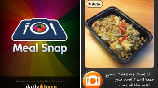 Aplicación para iPhone calcula calorías de las comidas con solo una foto