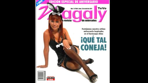 Los atuendos más audaces de las conductoras de la televisión peruana