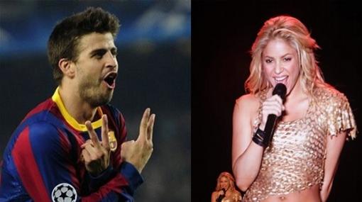 Piqué dice que este festejo no es para Abidal ¿Será para Shakira?