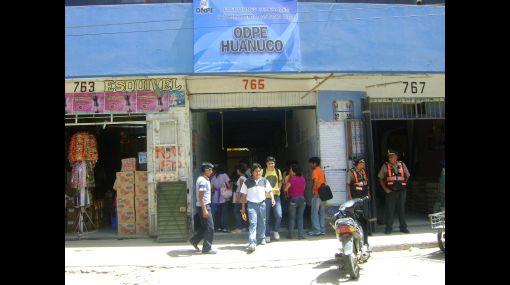 El JEE de Huánuco aún no procesa más de 800 actas observadas