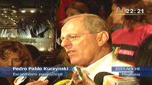 "Kuczynski sobre pacto que no ha firmado Humala: ""Tratamos de convencerlo"""