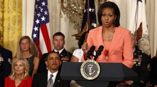 Avión de Michelle Obama estuvo demasiado cerca de otro jet
