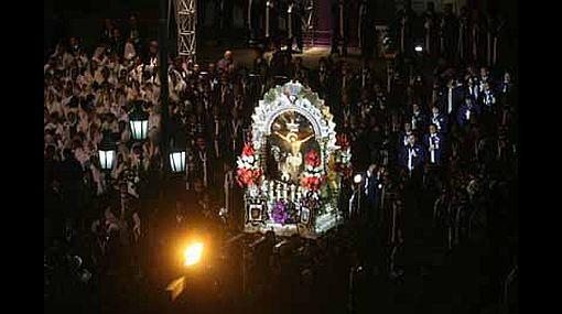 Señor de los Milagros se encuentra en la Catedral de Lima