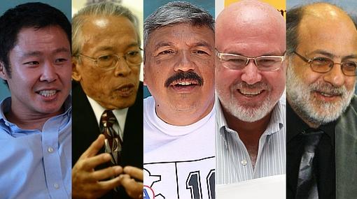 El ránking de los diez congresistas electos más votados del Perú