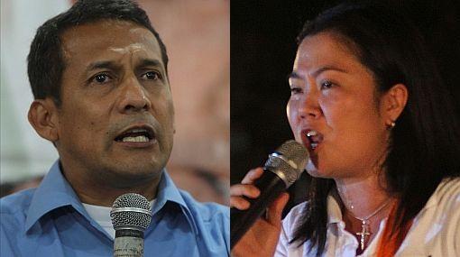 CPI da diferencia de 7,4% entre Keiko y Ollanta