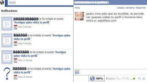 Aplicación para saber quién visita nuestro perfil en Facebook es un virus