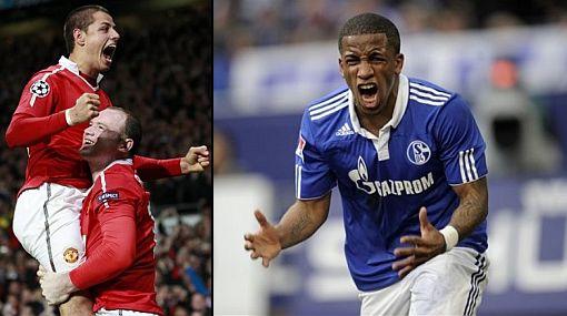 Schalke de Farfán juega ante Manchester United por la Champions