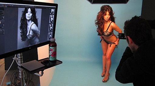 ¡Regalo navideño! Fotógrafo de Kim Kardashian publicó foto candente de ella