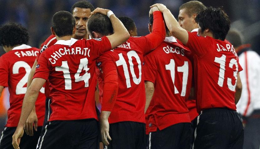 FOTOS: sigue el Schalke vs. Manchester United en imágenes