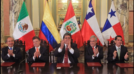 El Perú, México, Chile y Colombia firmaron el Acuerdo del Pacífico
