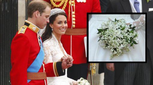 El ramo de novia de Kate, una dulce muestra de cariño a su marido