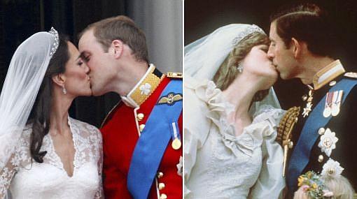 Paralelos: las diferencias y similitudes entre Lady Di y Kate Middleton