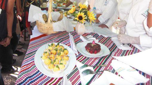 La papa amarilla fue la protagonista en festival gastronómico en Huánuco