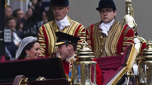 ¿Qué susurraron el príncipe Guillermo y Kate Middleton en la boda real?