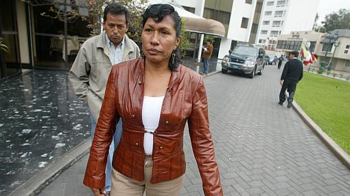 Ordenan captura de la parlamentaria Elsa Malpartida