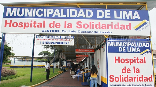 Alcalde del Rímac pide al Municipio de Lima un Hospital de la Solidaridad
