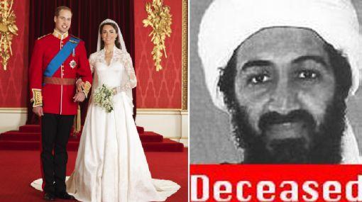 Boda real fue más vista que el anuncio de la muerte de Bin Laden
