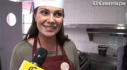 Almendra preparó galletas para una campaña por el Día de la Madre