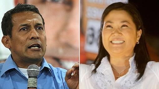 Encuesta de Ipsos Apoyo: Ollanta Humala 39% y Keiko Fujimori 38%