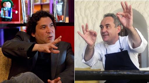 """Ferrán Adrià y Gastón Acurio planean documental """"La cocina como arma social"""""""