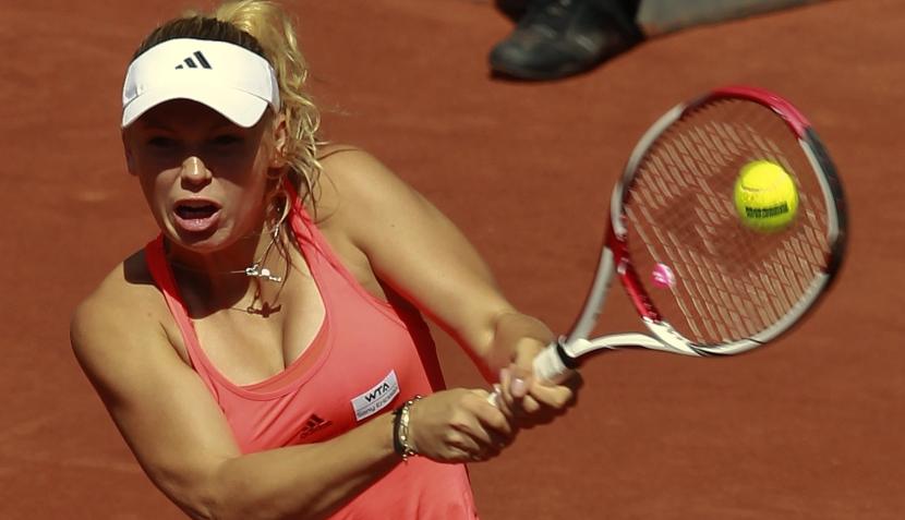 FOTOS: la hermosa Julia Goerges eliminó a nuestra engreída Caroline Wozniacki