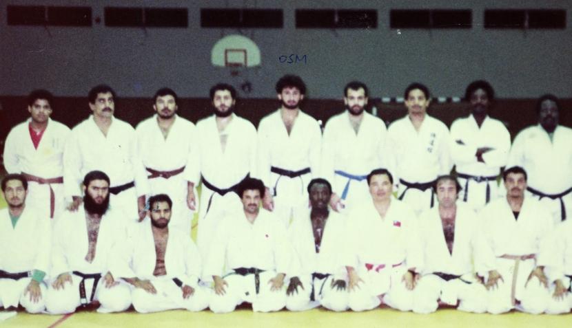 FOTOS: supuesto Bin Laden cuando era joven y practicaba judo
