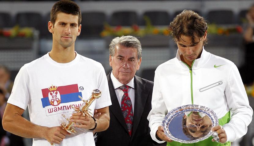 FOTOS: Djokovic venció a Nadal en el Másters de Madrid ante los ojos de muchas estrellas