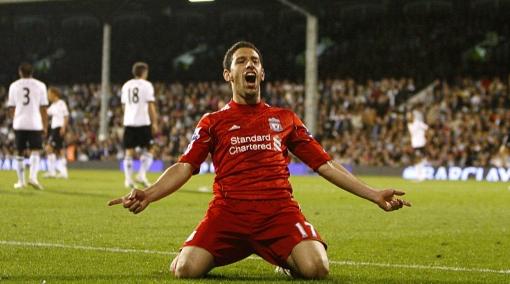 El 'Maxi' Rodríguez anotó un 'hat trick' en goleada del Liverpool