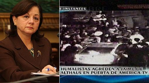 """Rosario Fernández: """"Candidatos deben evitar que militantes generen violencia"""""""