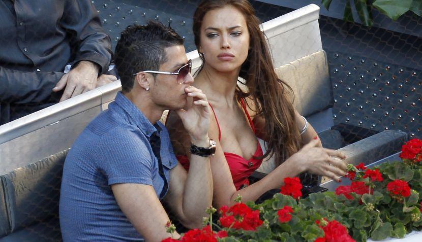 ¿Irina Shayk 'hizo sudar' a Cristiano Ronaldo en el Masters de Madrid?