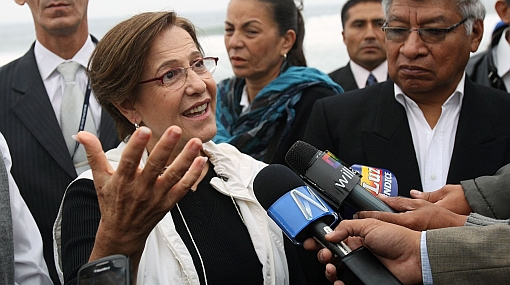 """Villarán sobre sanción a Zegarra: """"No violó neutralidad electoral"""""""