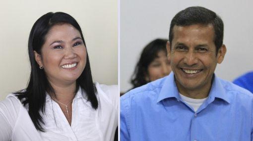 Ipsos Apoyo: Keiko Fujimori 51,1% y Ollanta Humala 48,9%