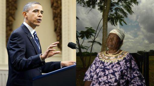 Abuela de Obama recibe protección especial tras muerte de Bin Laden
