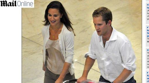 ¿Y su novio? Pippa Middleton fue vista en Madrid con una ex pareja