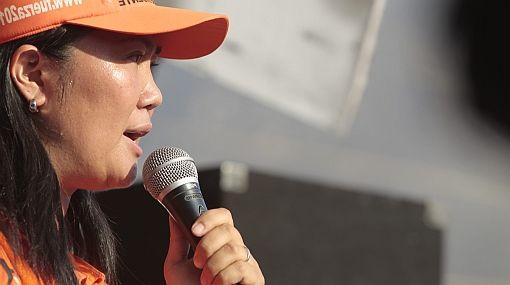 Keiko Fujimori está dispuesta a debatir sobre DD.HH. y corrupción