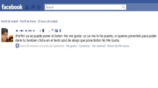 """Spam en Facebook: cómo eliminar la aplicación del """"Botón no me gusta"""""""