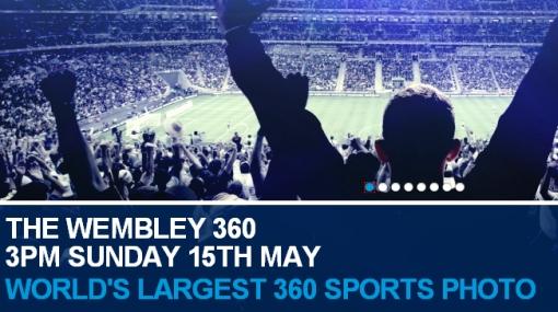 Impresionante panorámica de 20 gigapíxeles del Estadio de Wembley