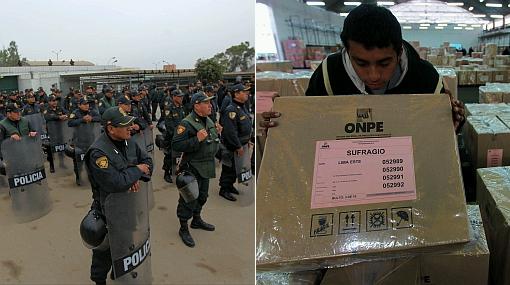 Cerca de 80 mil policías resguardarán la segunda vuelta electoral