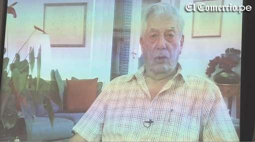 Vargas Llosa reiteró su respaldo a Ollanta Humala a través de video