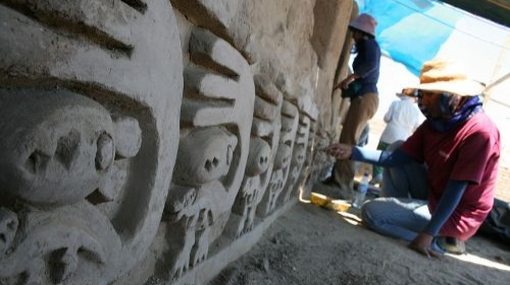 Restauran Chan Chan para retirarla de lista de monumentos en peligro