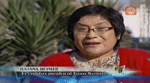 Juliana Reymer quedó endeudada pero volverá a postular en el 2016