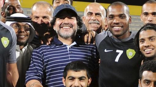 Maradona cobrará más de US$34 millones en Dubái