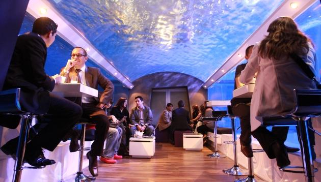 Oceanus Lounge: un bar bajo el agua en San Isidro