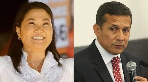 Ipsos Apoyo: Keiko Fujimori 51,4% y Ollanta Humala 48,6%
