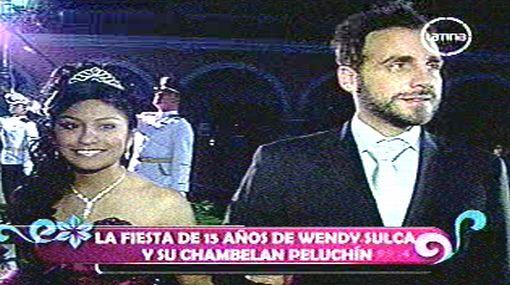 Reina de YouTube tuvo a 'Peluchín' como 'chambelán' en quinceañero