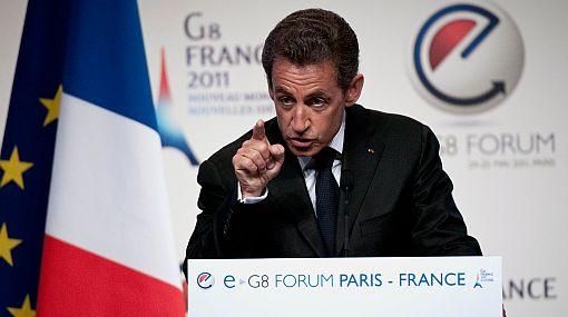 Sarkozy pide proteger propiedad intelectual en Internet